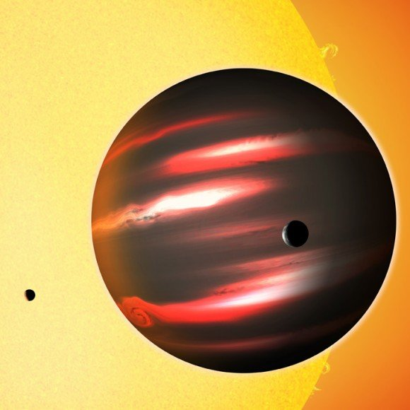 Astronomers Discover Dark Superplanet